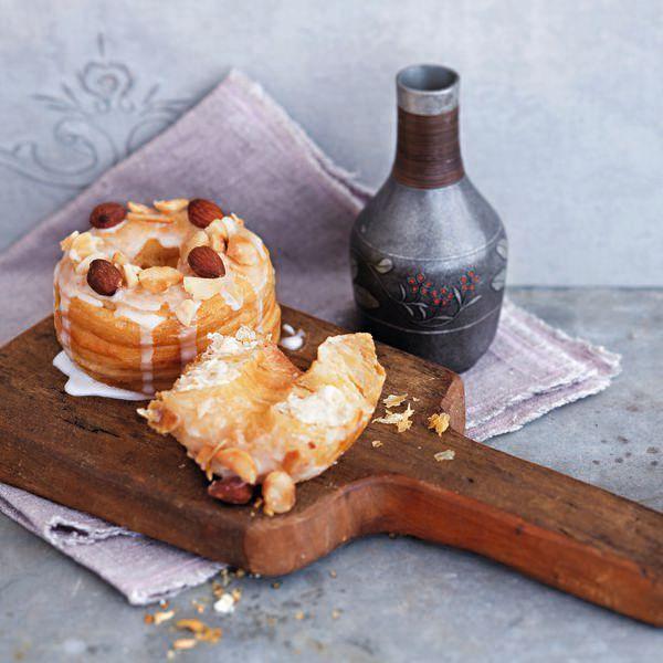 Macadamia and Smokey Almonds Cronuts