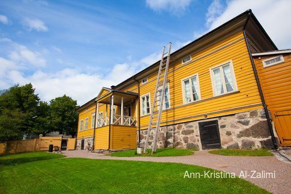 Ann-Kristina Al-Zalimi, architecture, finnish architecture, porvoo, borgå, J. L Runeberg, J.L Runeberg's home, finnish national poet J. L Runeberg