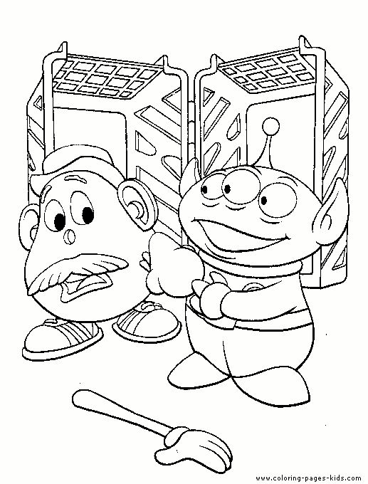 Mejores 27 imágenes de coloring pages 18 (toy story) en Pinterest ...