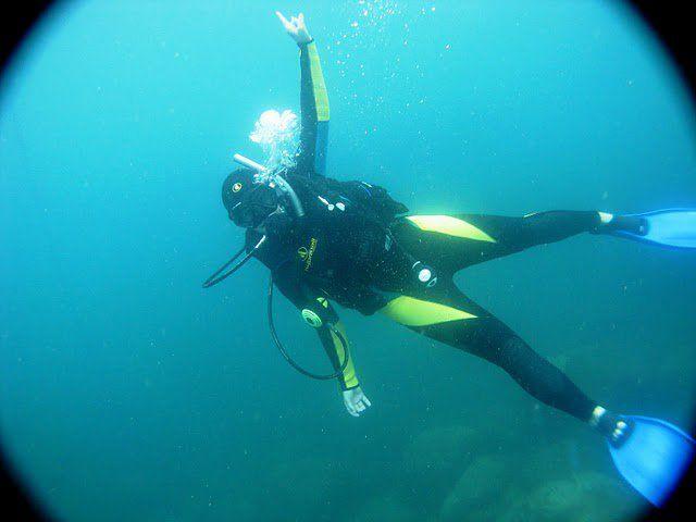 Mergulho em Bombinhas - SC #scubadiving