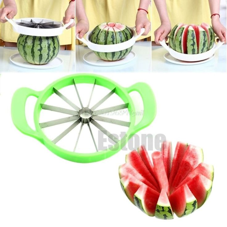 Stainless Steel Watermelon,Cantaloupe Slicer