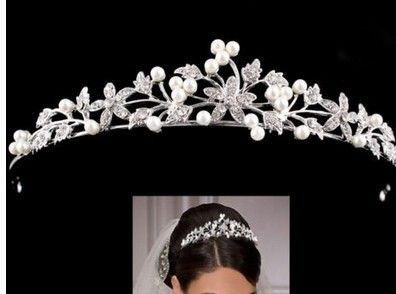 US $5.39 / piece 3 days left Approximately Rs. 374.68  Cheap tiara parts, Buy Quality accessories punk directly from China accessories visor Suppliers: fashion pearl crystal wedding princess tiara headband rhinestone pageant crowns for bride hair accessoriesUSD 3.99/piece