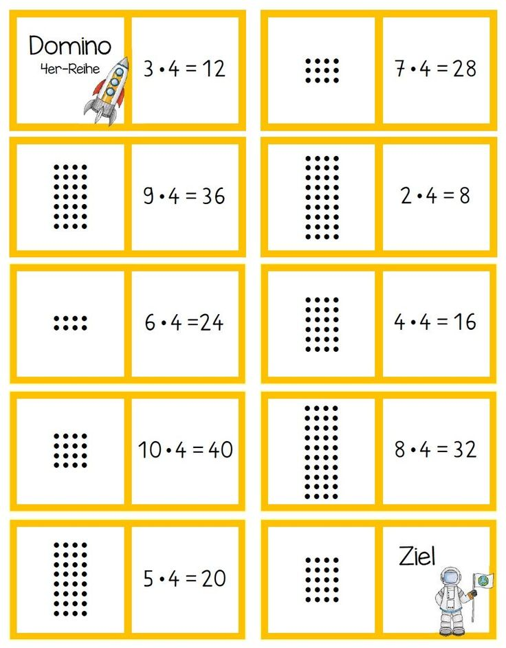 Mathespiele 2. Klasse
