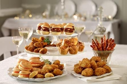 Christmas Food to Order: Contemporary party selection