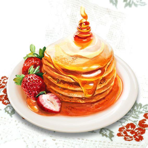 Pancakes & Fruits on Behance