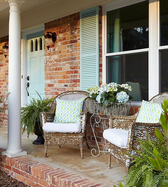 9 Front Garden Ideas Anybody Can Try: Patio Images On Pinterest