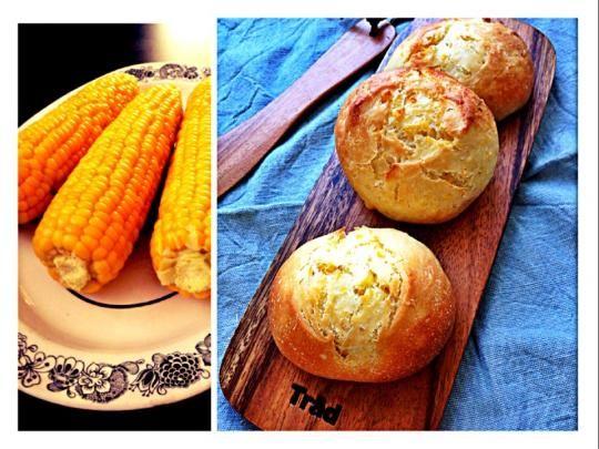とうもろこしパン 〜トウモロコシの茹で方のポイント〜
