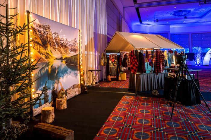 13 Design And Activity Ideas For A Ski Mountain Theme Event With
