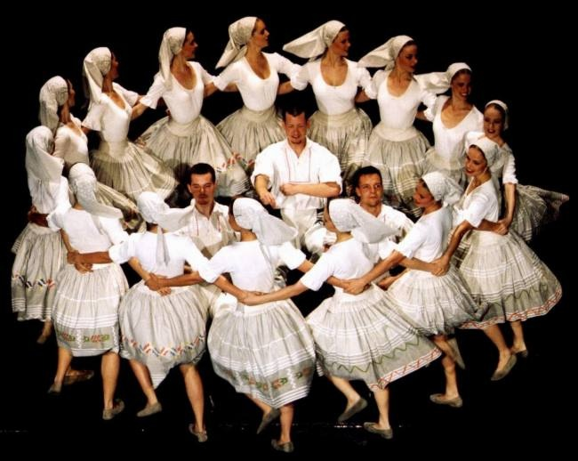 Slovak folklore ensenble Lucnica - our pride which is known over the world for its perfect performances.