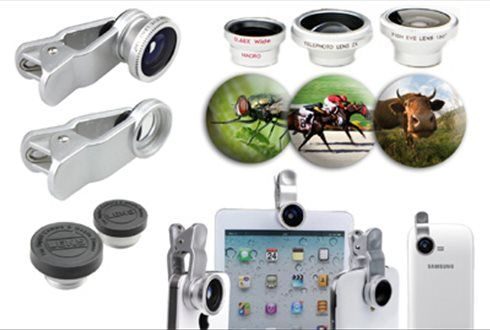 Imortalize os seus melhores momentos com esta lente 3 em 1. Olho de peixe, Grande angular e macro...por apenas 14,90€ em vez de 35,90€. - Descontos Lifecooler