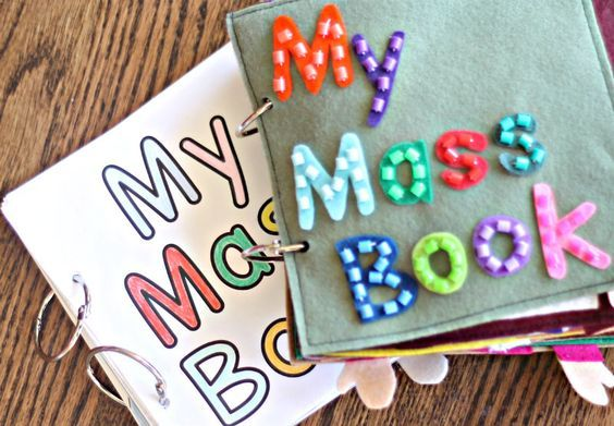 Mass Quiet Book–Pattern and Printable–On Sale Today!