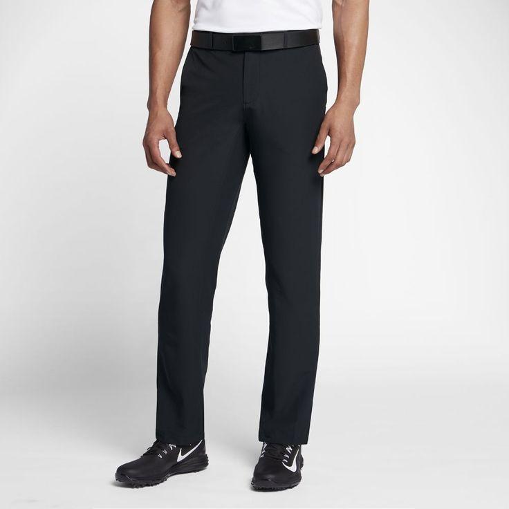 Nike Flex Hybrid Men's Woven Golf Pants Size 36/35 (Black) #GolfPants