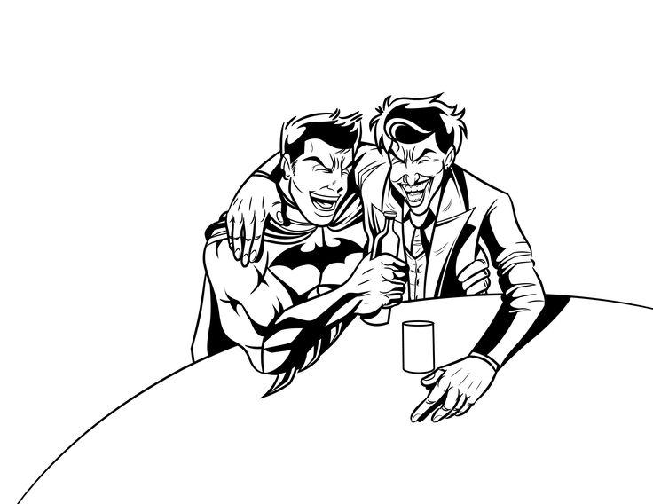 Lineart / Comic / Fanart Friends Evil  #Comic #Comics #Comicart #comiccon #comiartist #comicartwork #arte #art #artist #Artwork #artgallery #dc #Batman #Joker #Wason #ilustracion #ilustraciones #ilustrador #ilustradores #colombia #cucuta #repost #TablerosDeArte