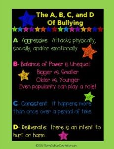 The A, B, C, and D of Bullying