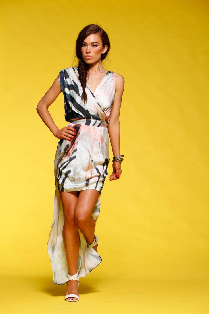 Honey & Beau - Rock The Dress in Print HD55004
