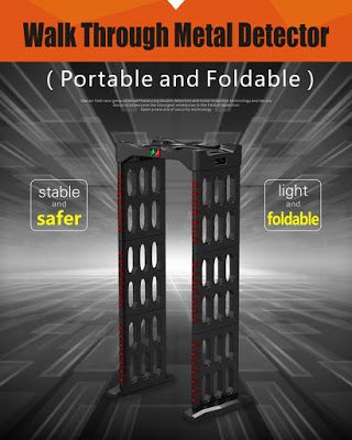 Portable Walk Through Metal Detector: Portable Walk Through Metal Detector