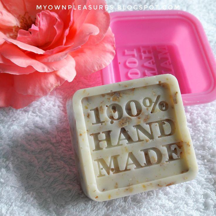 DIY  Mydło z miodem i płatkami owsianymi