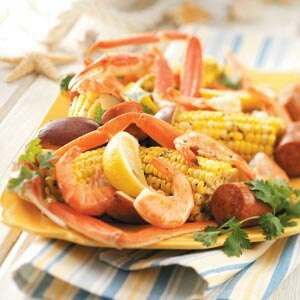 Shrimp Seafood, Seafood Recipes, Low Country Boil Recipe, Seafood Bake ...