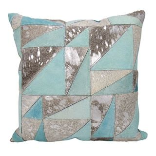 Shop for Mina Victory Dallas Triangles Grey/Silver Throw Pillow (20-inch x 20-inch) by Nourison. Get free shipping at Overstock.com - Your Online Home Decor Outlet Store! Get 5% in rewards with Club O!