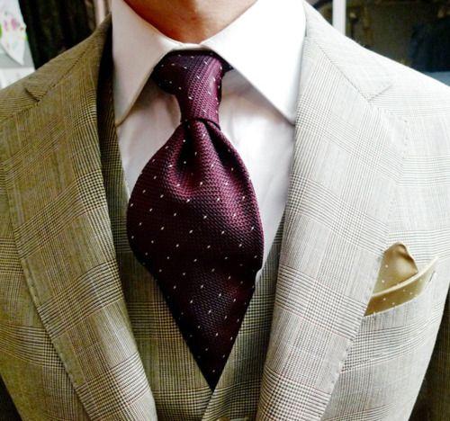 PurpleColors Combos, Windsor Ties, Three Piece Suits, Colors Combinations, Men Fashion, Job Interview, Men Suits, Pocket Squares, Girls Style
