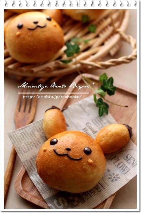 I need to learn how to make bread. - Pikachu bread