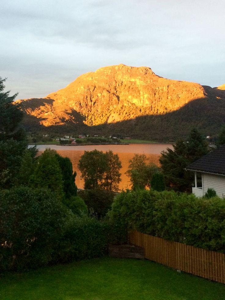Утро в Норвегии 😍☀️🥀