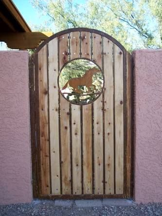 Wood Fence Gates Iron Synthetic Affordable Fences Gate