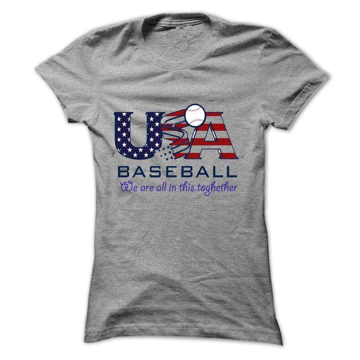 USA base ball, T-shirt best sell