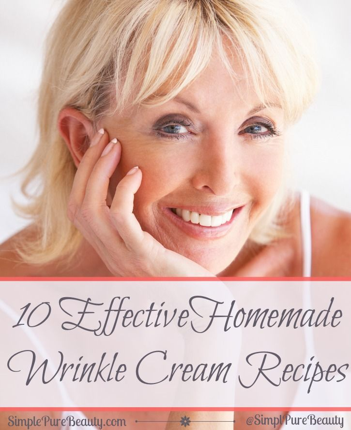 10 Effective Homemade Anti-Aging Serums & Anti-Wrinkle Cream Recipes | simple pure beauty #ageless