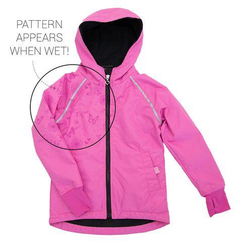 Buy Waterproof Kids' Magic Print Wet-weather Jacket - Girls Pink