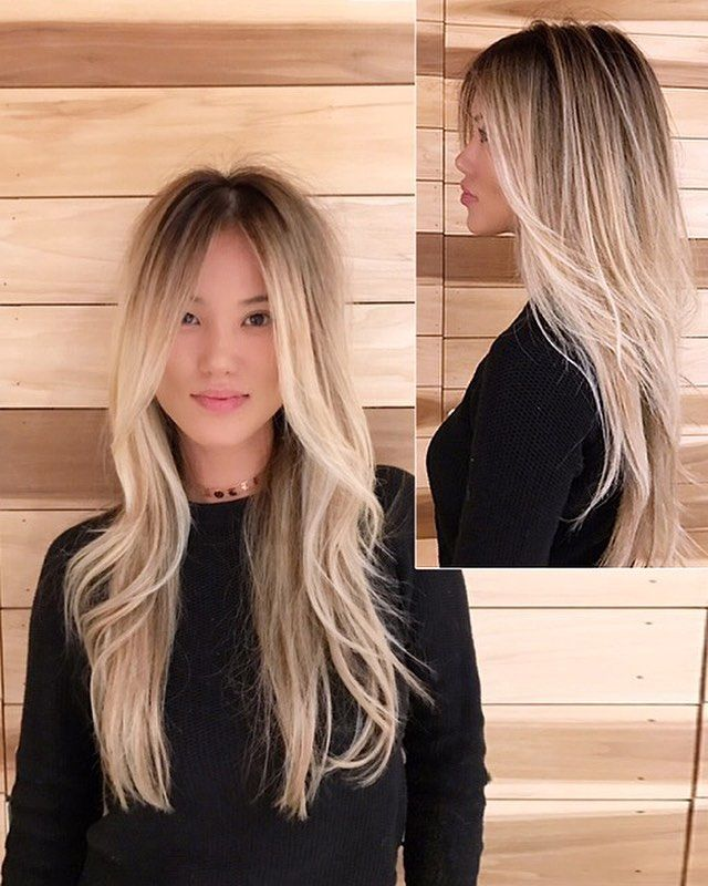 83k Followers 504 Following 2 006 Posts See Instagram Photos And Videos From Meche Salon La Mechesalonla Blonde Asian Hair Dyed Blonde Hair Asian Hair