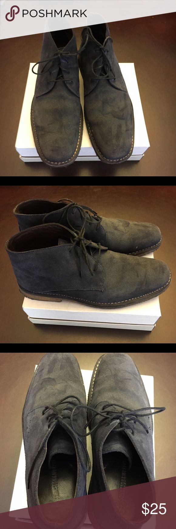 Johnston & Murphy Suede Shoes Johnston & Murphy Suede Shoes.  Great condition, worn a few times.  Made of sheep skin. Size 10.5 Johnston & Murphy Shoes