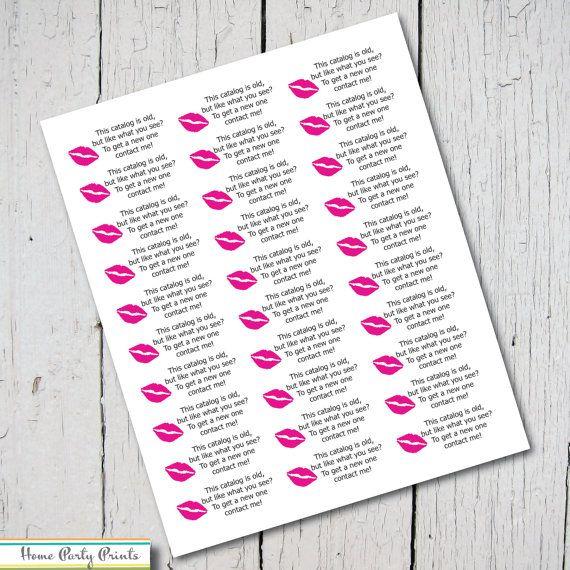 8 best images about avon brochure labels on pinterest