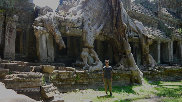 Angkor Wat - Preah Khan Temple Cambodia - For more on Angkor Wat travel check out http://ajourneyintotheunknown.com/angkor-wat-best-temples/