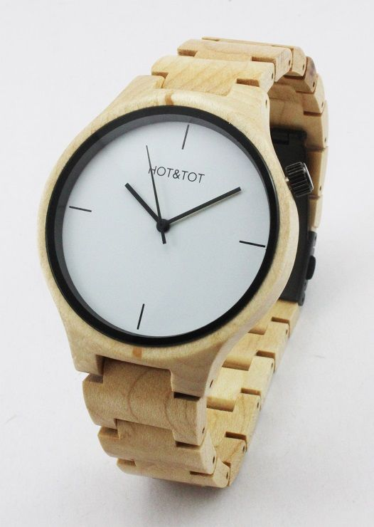 Yale wooden watch
