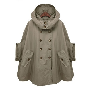 Trench Cape Coat Green, $69, now featured on Fab. Christina this ones for you!!!!!!!!