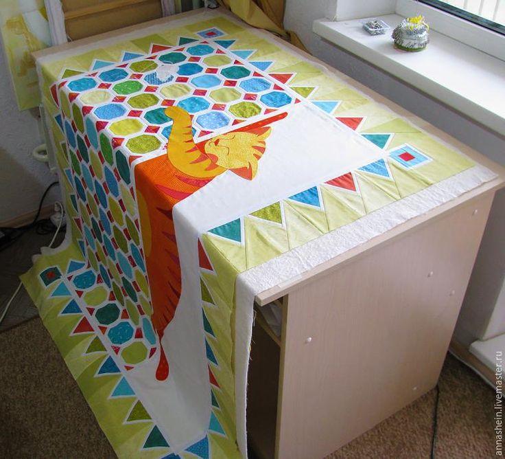 Как просто собрать «сэндвич» для стежки большого одеяла - Ярмарка Мастеров - ручная работа, handmade