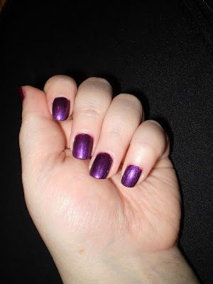 Leah's beauty : #SSBNailChallenge | Purple