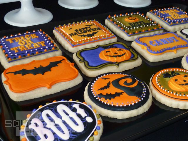 halloween party ideas - Halloween Cookies Decorating Ideas