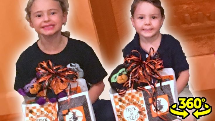 HALLOWEEN MYSTERY BAG from Mimi!   360 Video - Every holiday Mimi makes her grandkids some Halloween Mystery Bags. She fills it with toys candy and other fun things for kids for Halloween. Find out what's in the bags in this Halloween vlog 360 Video!  You HAVE to watch our latest video! https://www.youtube.com/playlist?playnext=1&list=UUu9UOdsWTNRopIP-RSWuEDQ   Free EBOOK: http://ift.tt/2zRHf8t  My mom Mimi made some Halloween bags for the kids so we went over to her house to let the kids…