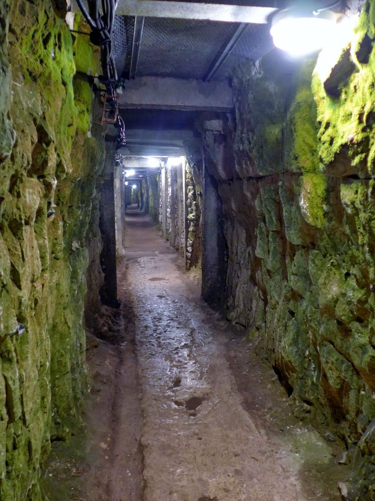 Vimy Ridge, National Historic Site of Canada, Northern France. First World War tunnels.