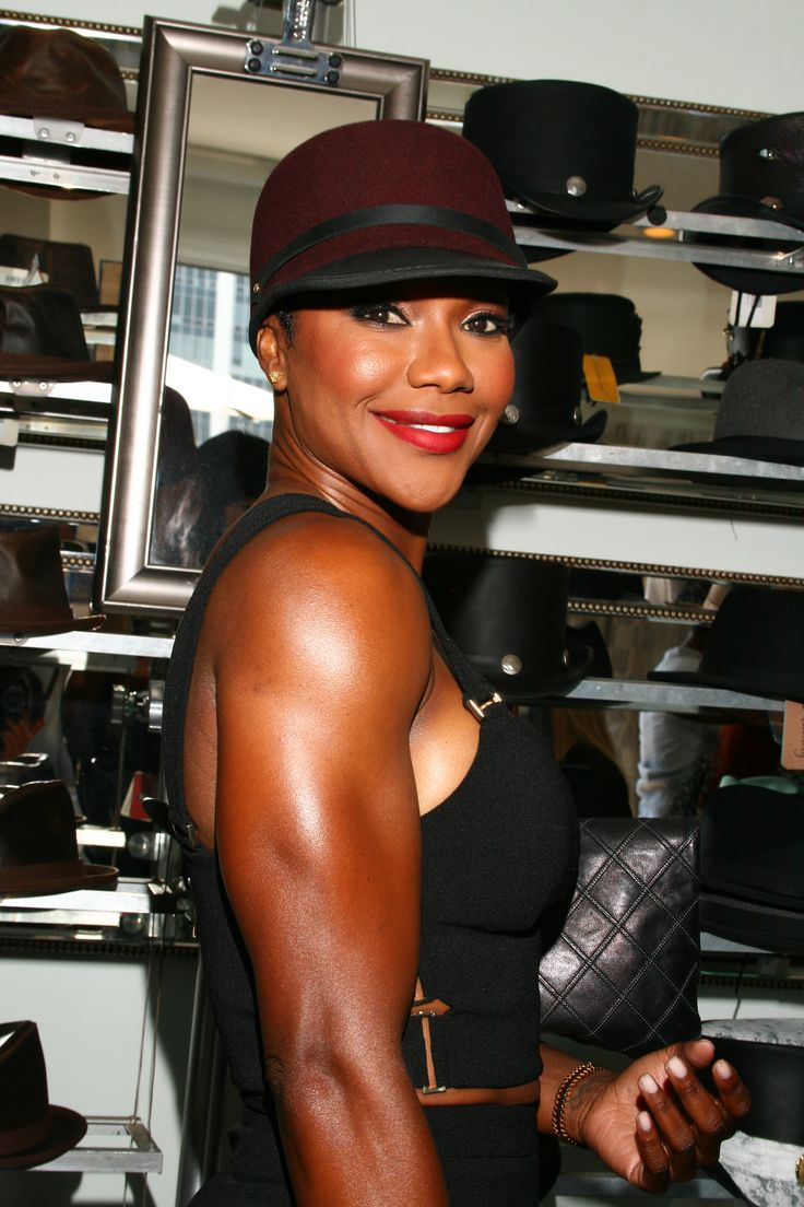 Carmelita Jeter looking wonderful in our Ashbury Hat- Beverly Hills -American Hat Makers