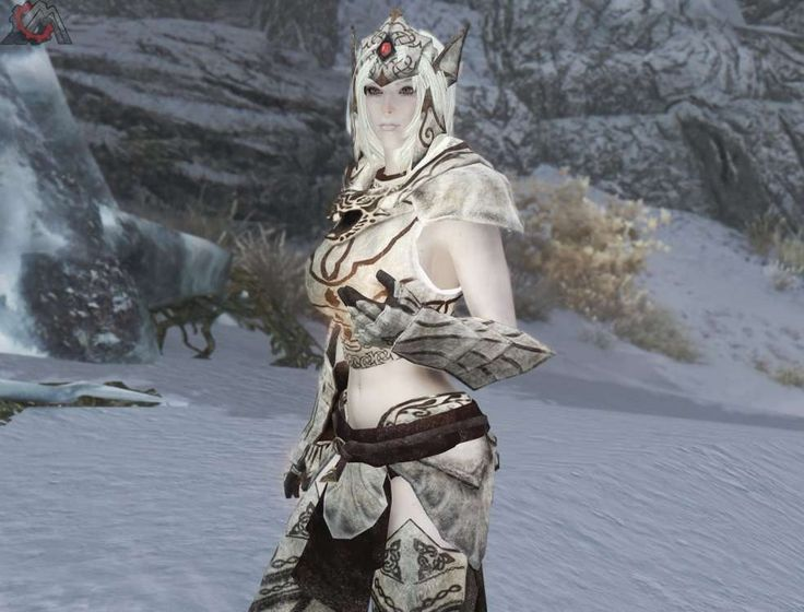 skyrim snow elf mod - Google Search