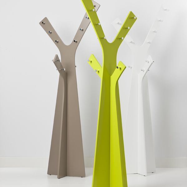 Cascando Tree Coat StandAvailable in warm grey, lime green or white.Also contact us to discuss savings for trade and volume purchases