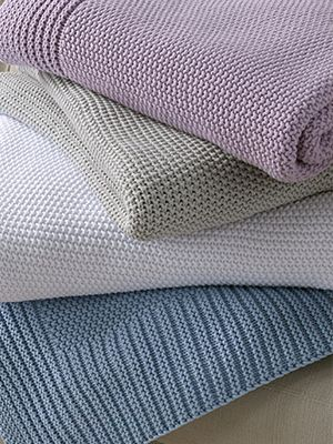 Stay warm with Matouk's newest cotton throw from the Esme Collection!