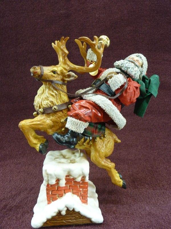 Possible Dreams Santa on Reindeer