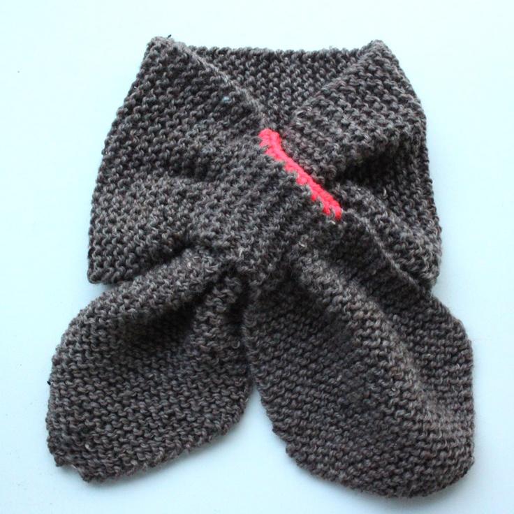 Stickad halsduk till barn/Lutter Idyl: Free patterns & DIY