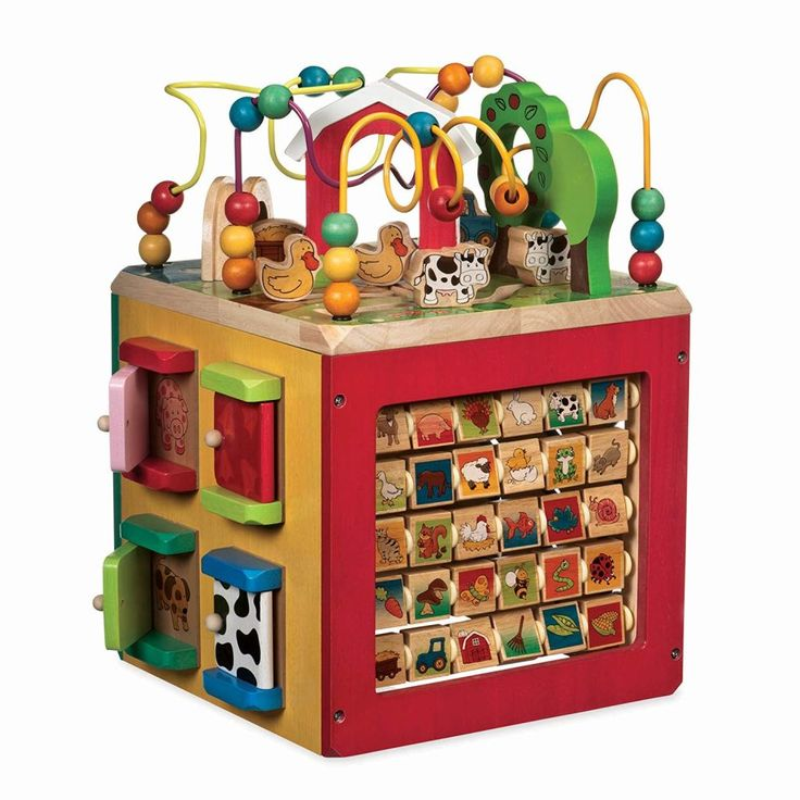 Best Educational Toys for 9-12-Month-Old s | Activity cube ...