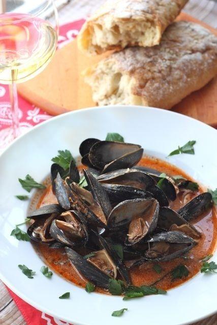 Mussels Fra Diavolo con Crema   #recipe