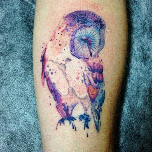 amazing, aquarela, art, beautiful, colorful, colorida, cool, coruja, fofa, ideia, inked, inspiration, owl, style, tattoo, tatuaggio, tatuaje, watercolor, tattootome, t2m